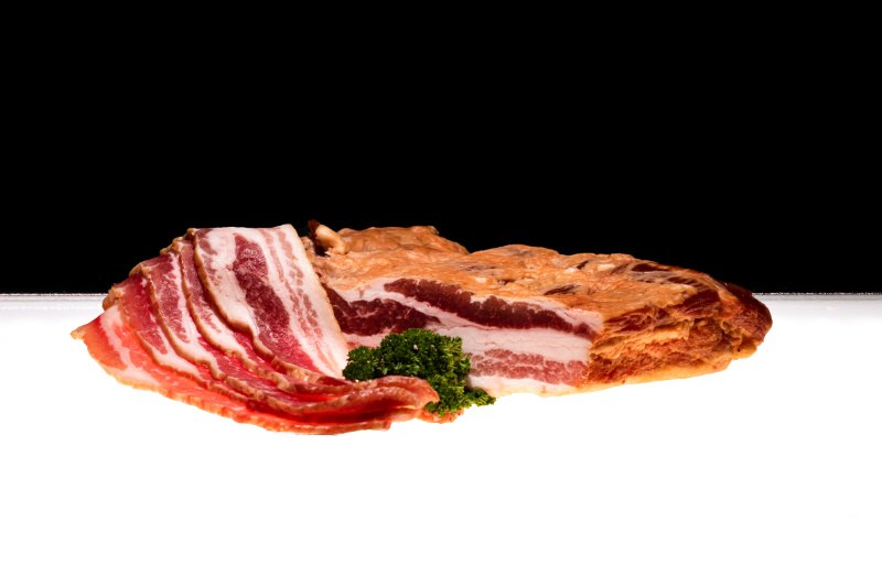 Bacon, filetiertes Bündle